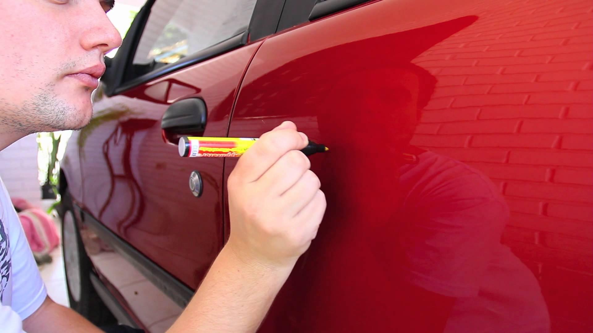 Чем устранить царапины на кузове автомобиля своими руками